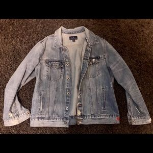 Lucky Brand Oversized Denim Jacket